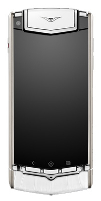 Vertu Ti Titanium White Alligator