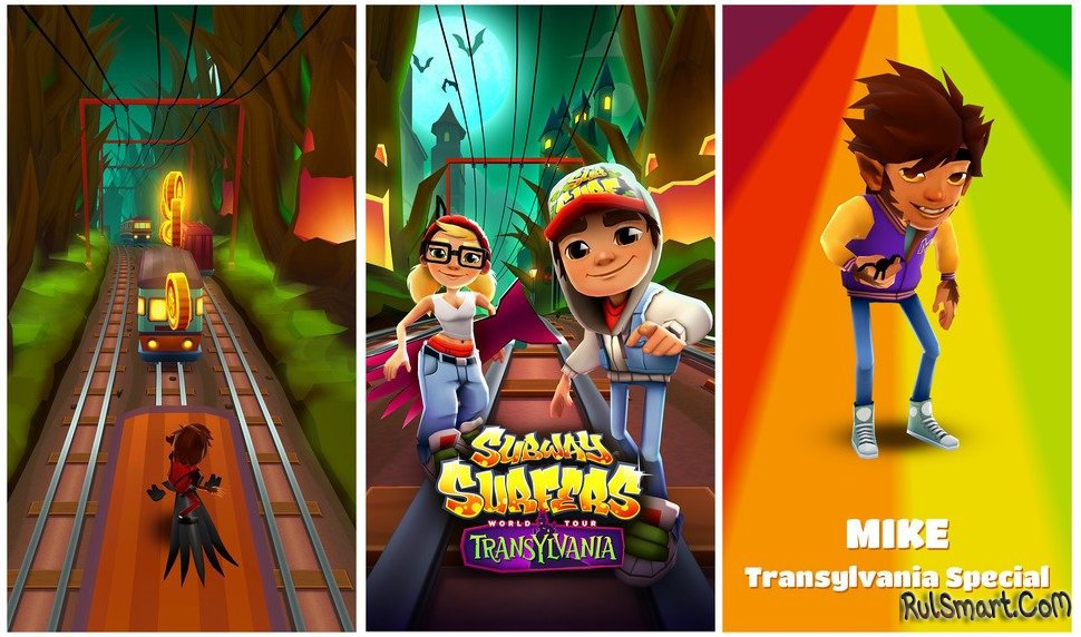 Subway surf на андроид.