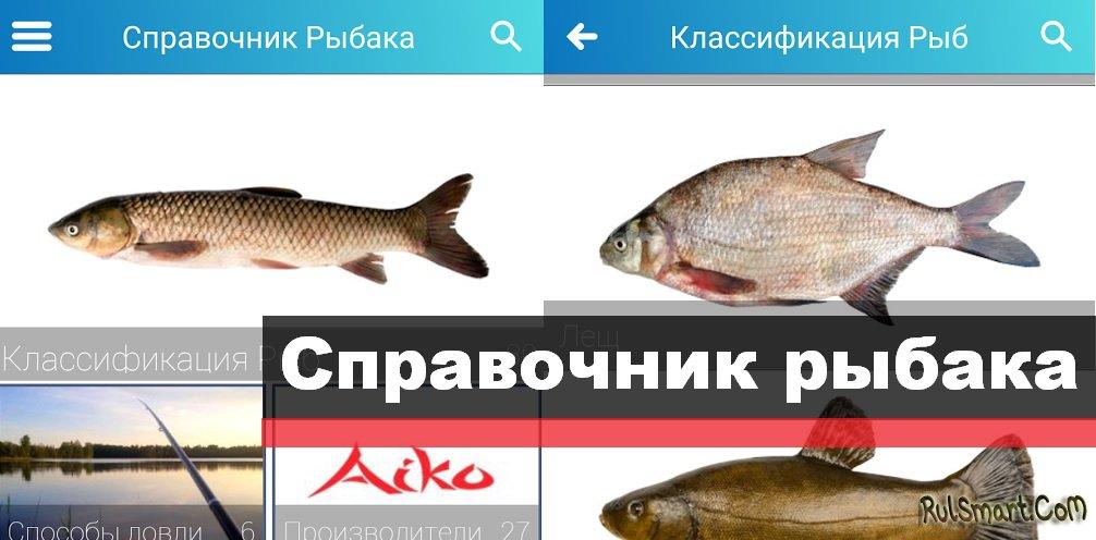 справочник рыбака 4pda