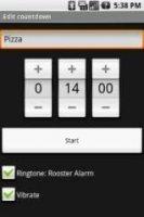 Скриншот OpenIntents Countdown_v1.0.1