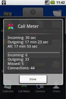 Скриншот Call Meter - apk