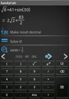 Скриншот HandyCalc - apk