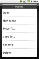 Скриншот Manage - apk