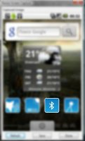 Скриншот Bluetooth Toggle Widget