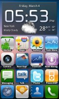 MIUI.ADW iPhone Launcher
