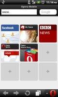 Скриншот Opera Mobile