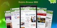 Скриншот Dolphin Browser Mini