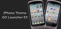 Скриншот iOS iPhone Theme GO Launcher