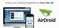 Скриншот AirDroid