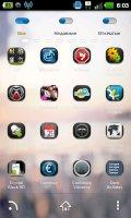 Скриншот ZANYWAY GO Launcher Theme