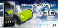 Скриншот 3D Design Battery Widget