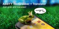Скриншот ABBYY TextGrabber + Translator