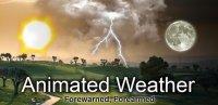 Скриншот Animated Weather Widget & Clock