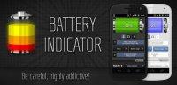 Скриншот Battery Indicator Pro