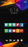 Скриншот  Yoma Icons Apex,Nova,ADW,Holo,Smart,Action