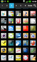 Скриншот ADW APEX GO - ICS Plates Theme