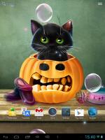 Котенок на Хэллоуин