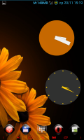 Скриншот Wow KitKat Clock Widgets