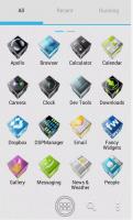 Скриншот ADW APEX GO - 3D ICS Plates