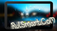 Rain Drops on Screen 4K 3D LWP