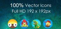 Скриншот Oreo 8 — Icon Pack