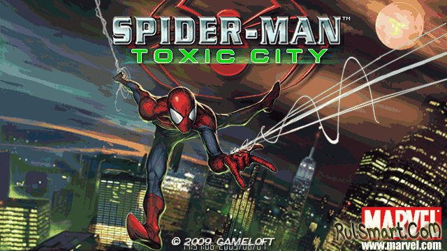 ���� Spider-Man Toxic City 1244712892_superscre