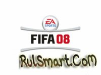 Скриншот FIFA 08 на Русском языке