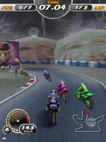 Скриншот 3D Moto Racing Evolved (EN 240X320)