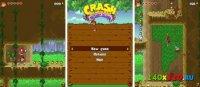 Скриншот Crash Bandicoot - Mutant Island для Нокиа 5800, 5530, N97