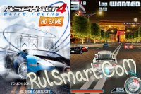 Скриншот Asphalt 4: Elite Racing 3D