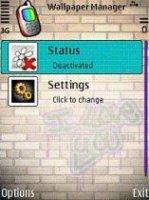 Скриншот Wallpaper Manager v1.03en