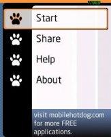 Скриншот MBounce Clock Screensaver  - v.1.06