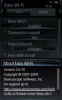 Скриншот Easy Wi-Fi 3.0.70