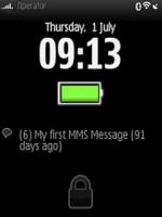 Скриншот Lock Screen