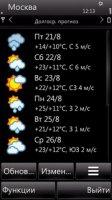Скриншот Патч для Foreca Weather(2.0.1)