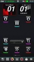 Xpress Music digital clock
