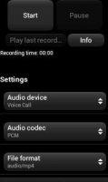 Скриншот Audio Recorder Pro