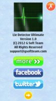 Скриншот Lie Detector Ultimate