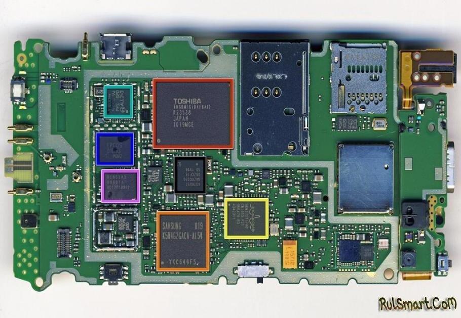 схемы смартфона Nokia N8-