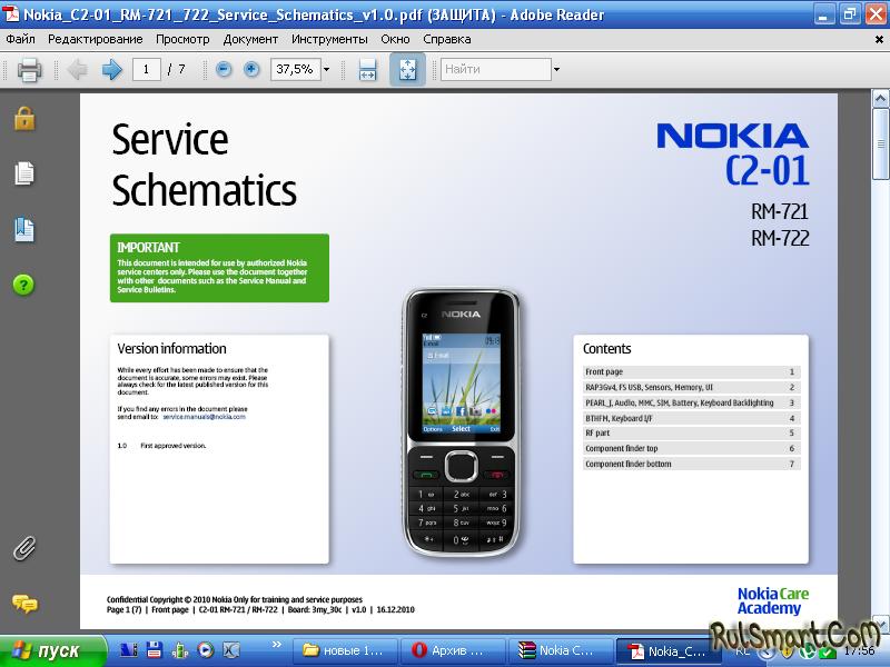 Nokia C2-01 RM-721,