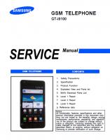 Скриншот Руководство по обслуживанию Samsung i9100 (Galaxy S2)
