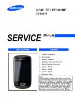 Скриншот Samsung GT-S5570 Galaxy Mini - Руководство по обслуживанию (service manual)