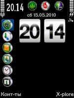 Скриншот Часы для Clock top