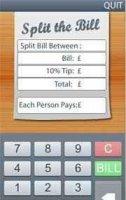 Скриншот Split Bill