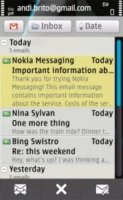 Скриншот Nokia Messaging for S60 5th Edition