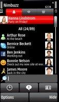 Nimbuzz (ICQ, Twitter, Skype, GoogleTalk, SIP) для Nokia 5800, N97, 5530