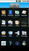 Скриншот М1 Android UI