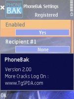Скриншот PnoneBak+