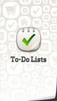 Скриншот ToDo Lists