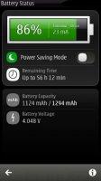 Скриншот Battery Status